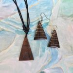 Available on Etsy - Handmade wood jewelry