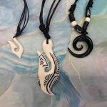 Available on Etsy - Handmade bone and wood jewelry