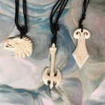Available on Etsy - Handmade bone jewelry