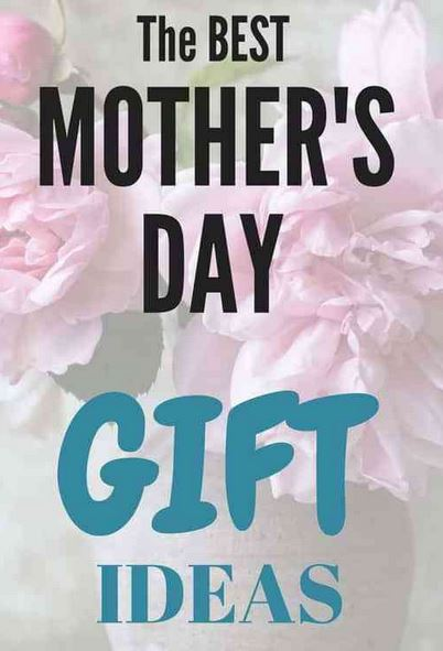 Gift ideas for Mother's Day!