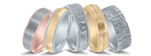 Novell wedding bands - Destination Diamonds