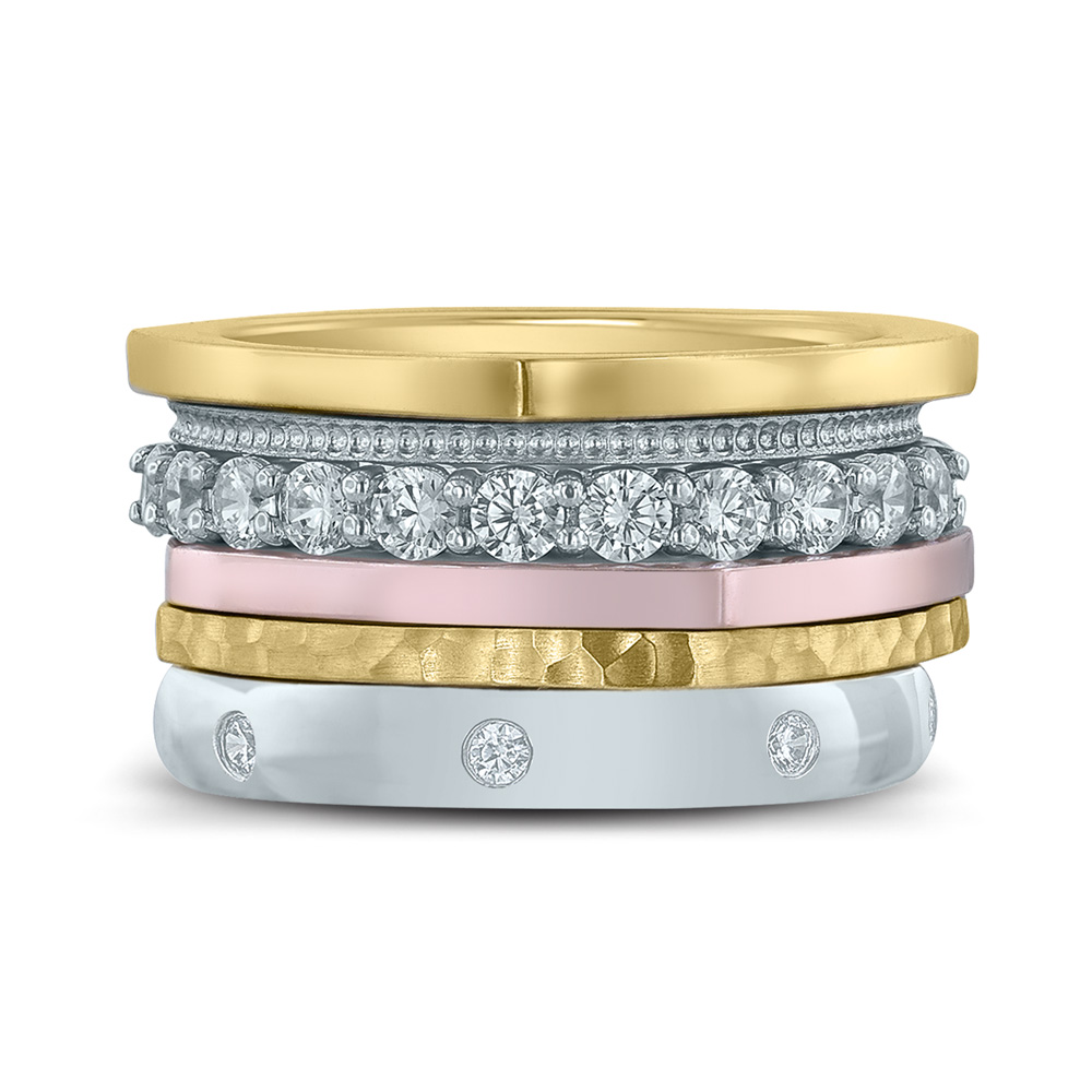 Circles stackable rings