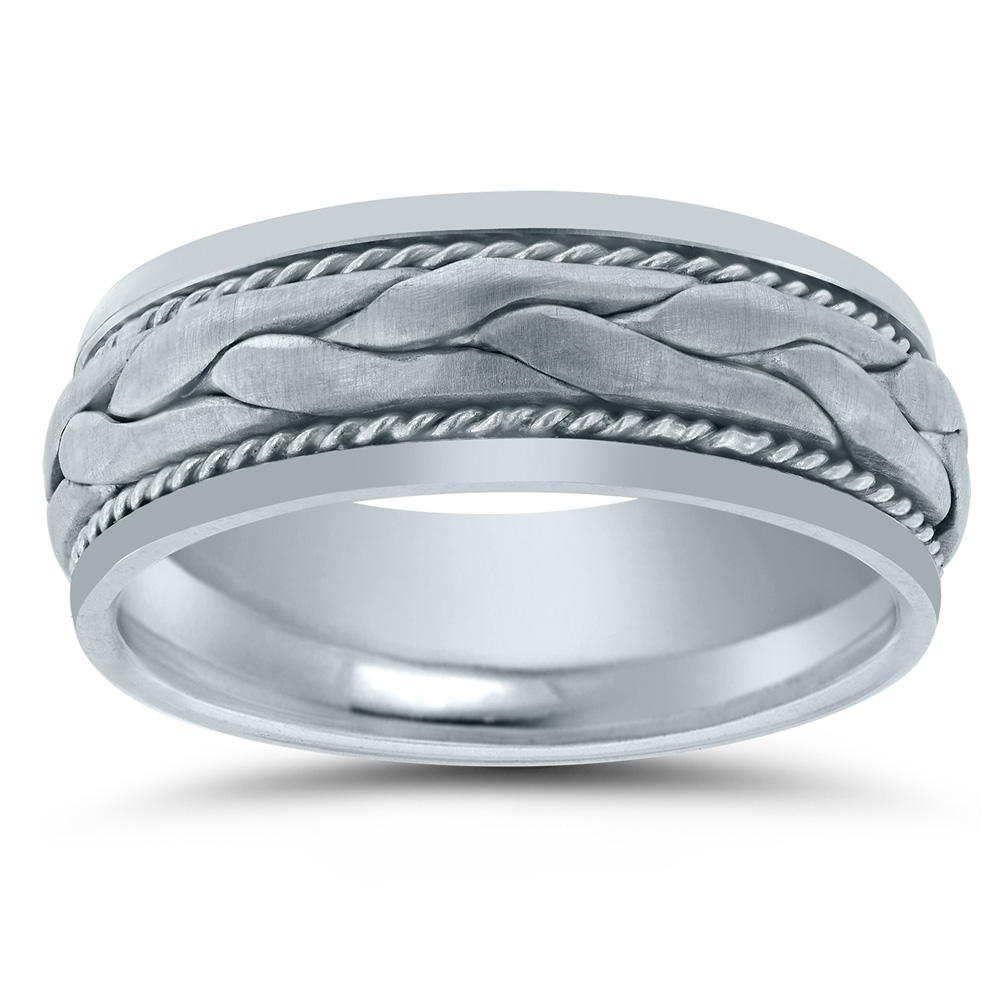 N03074 Novell wedding band