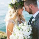 Just married couple at The Inn at Newport Ranch