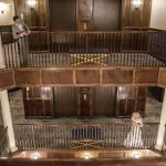 Hotel Boulderado - playful wedding picture.