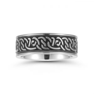 Stainless steel rings by Novell