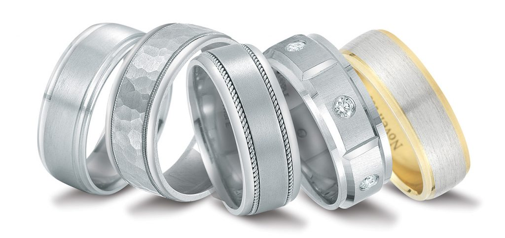 Novell wedding bands available at Diamonds Direct in Charleston, SC.