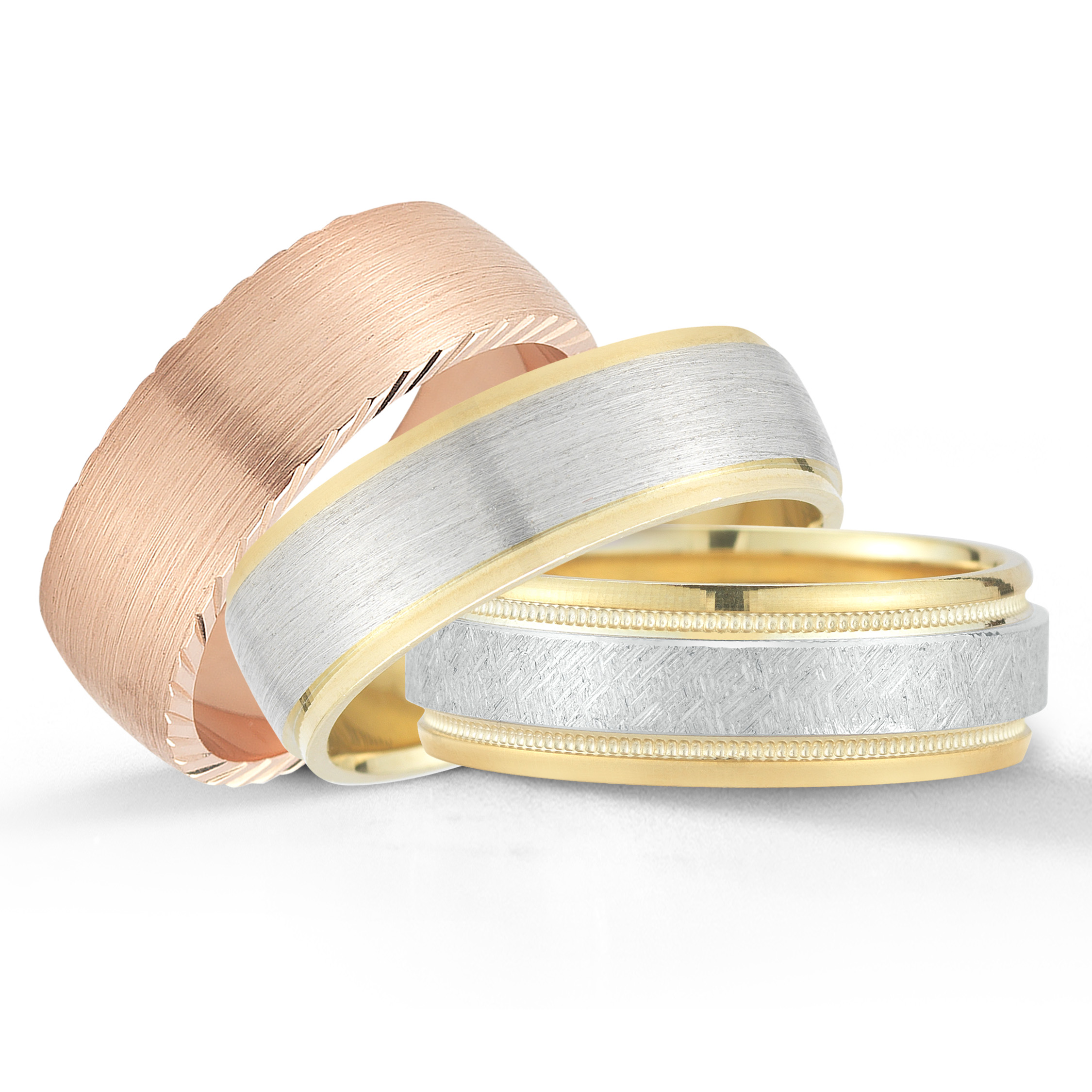 Novell wedding bands available at Diamonds Direct in Oklahoma City.