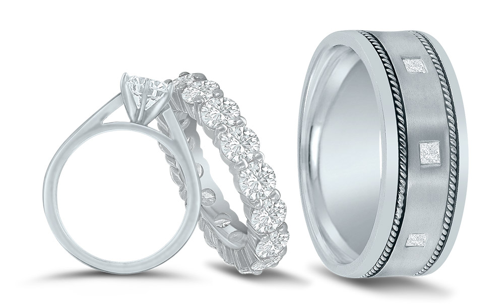 Precious Metals for Your Bridal Jewelry