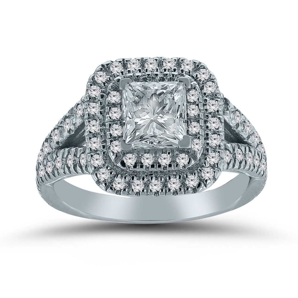 Custom engagement ring by Novell's Custom Shop.