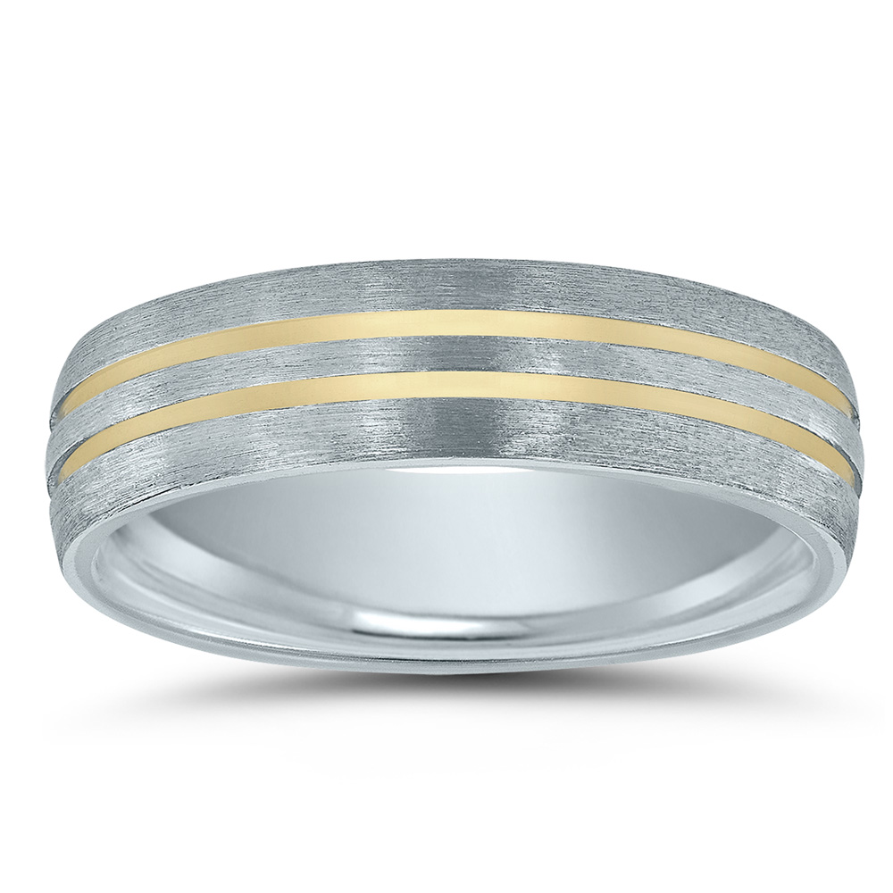 Novell wedding band - from the Colors Collection.