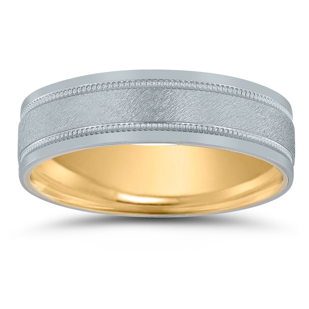Inside-out wedding band by Novell.