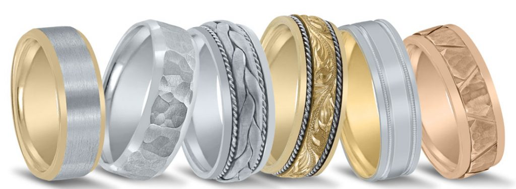 Novell wedding bands available at Van Cott Jewelers.