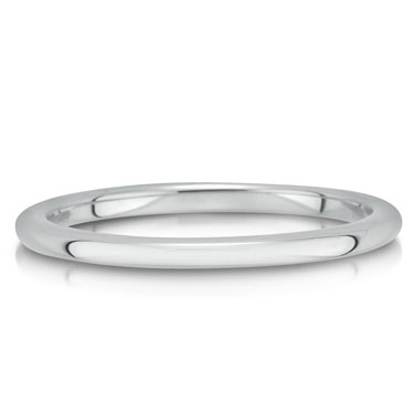C4898/2GW is a plain wedding band that is 2mm wide.