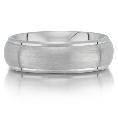 C7505/7G is a titanium wedding band that is 7mm wide.