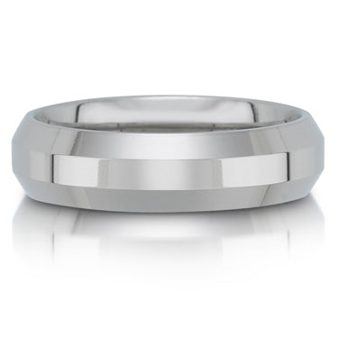 C7523/6G is a titanium wedding band that is 6mm wide.