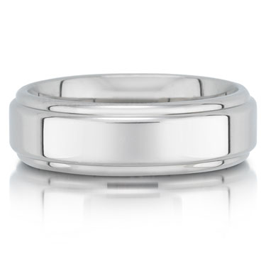C7534/7G is a titanium wedding band that is 6mm wide.