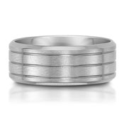 The C75704-9G is a titanium wedding band that is 9mm wide.