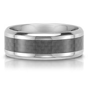 The C75705-7G is a titanium wedding band that is 7mm wide.