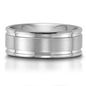 The C75708-8G is a titanium wedding band that is 8mm wide, and features a high polished finish.