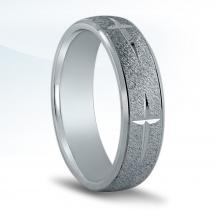 Men's Carved Wedding Band - N16528