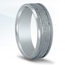 Men's Carved Wedding Band N16537