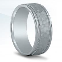 Men's Hammered Wedding Band - N16541