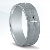 Men's Carved Wedding Band N16556