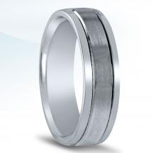 Men's Carved Wedding Band - N16564