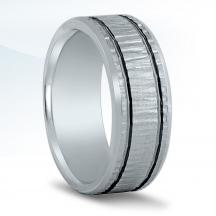 Men's Carved Wedding Band N16584