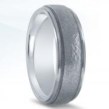 Men's Carved Wedding Band - N16635