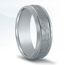 Men's Carved Wedding Band N16646