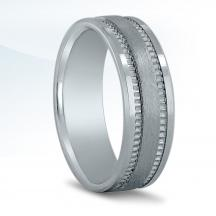 Men's Carved Wedding Band N16677
