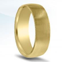 Men's Carved Wedding Band N16720