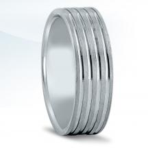 Men's Carved Wedding Band N16938