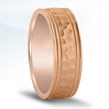 Men's Carved Wedding Band - N17074