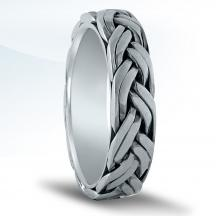 Men's Braided Wedding Band N16527