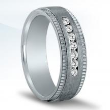 Men's Diamond Wedding Band ND16959