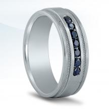 Men's Diamond Wedding Band - ND16996