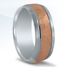 Men's Two-tone Wedding Band NT16542