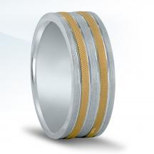 Men's Two-tone Wedding Band NT16549
