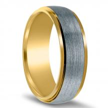 Men's Two-tone Wedding Band NT16633