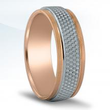 Men's Carved Wedding Band - NT16645