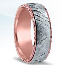 Men's Two-Tone Wedding Band - NT16715