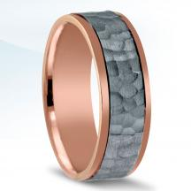Men's Carved Wedding Band - NT16741