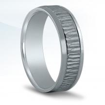 Men's Carved Wedding Band XN16695