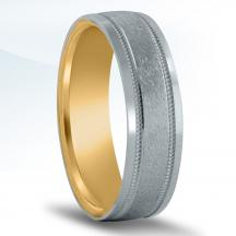 Men's Carved Wedding Band - XNT16966