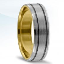 Men's Carved Wedding Band - XNT16984