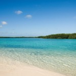 Great honeymoon destinations - secluded beach in Bonaire.