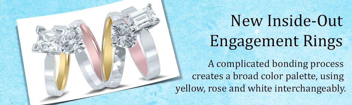 inside-out engagement rings